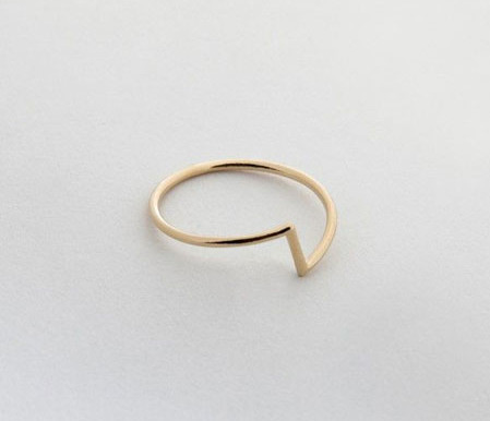 Linya Ring Gold plated
