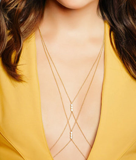 Rachel Roy Body chain
