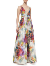 Alice-and-olivia maxi dress
