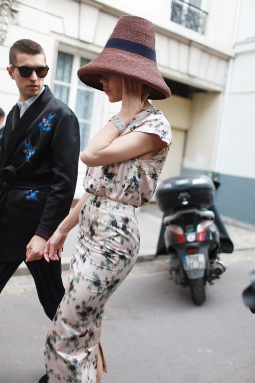 paris couture streetstyles