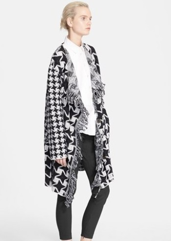 Stella-McCartney-Checkered-Blanket-Wool-Coat