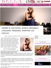 Bianca Mirabela Personal Shopper Bella.it