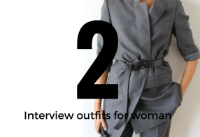 2 Interview outfits for woman